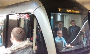 The Bombardier-Alstom Consortium and the STM Inaugurate Entry Into Service of Montreal's AZUR metro cars