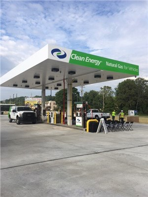 Clean Energy Wins CNG Contract with Washington Metropolitan Area Transit Authority