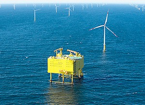 Siemens connecting roughly 5 million households to offshore power