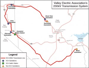 GridLiance Completes Acquisition of Valley Electric Association, Inc.'s 230-kV Transmission System