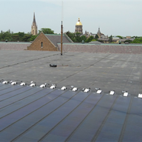 UNI-SOLAR Outperforms Competition at the University of Notre