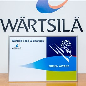 Wartsila Seals & Bearings Joins the Green Award Scheme in Support of Clean Environment
