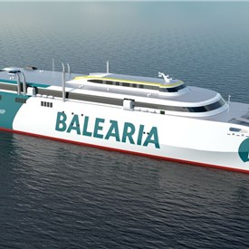 Wartsila Fully Integrated Scope Chosen for Largest LNG Fuelled High-Speed Catamaran