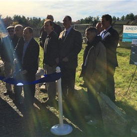 Town of Ashland and Ameresco Celebrate Completion of Three Municipal Solar Projects