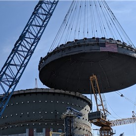 Bechtel Completes Major Milestone at U.S. Nuclear Plant Construction Site