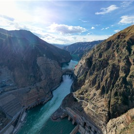 GE Renewable Energy connects the worlds most powerful hydro unit to the grid in Wudongde, China