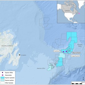 Oil Discoveries Offshore Newfoundland, Canada